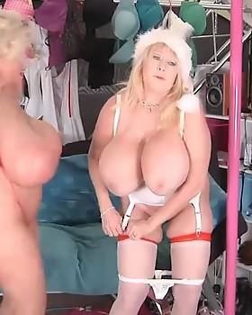 Claudia Marie Celebrates Big Tit Holidays With Kayla Kleevage